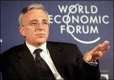 Mugur Isarescu la WEF