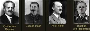 Molotov-Ribbentrop & stalin & hitler
