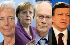 Barroso, Merkel, Van Rompuy și Lagarde