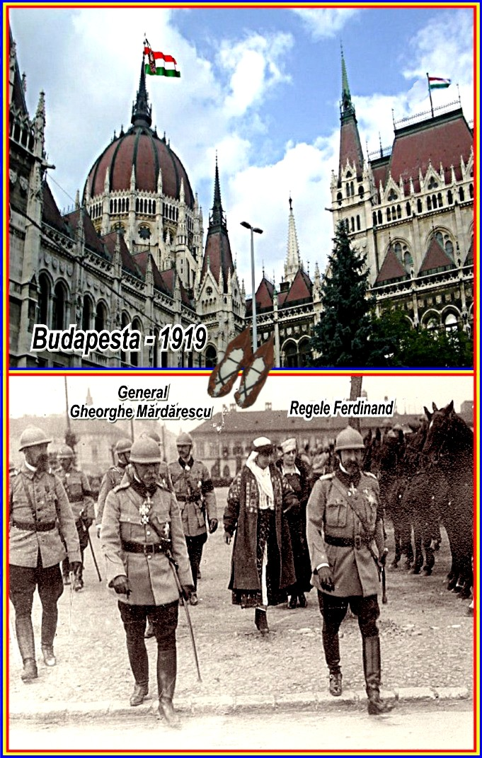 armata-romana-la-budapest-parliament