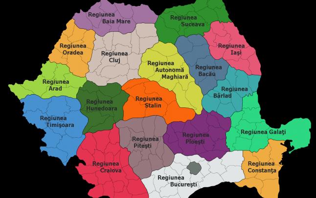 ROMANIA REGIUNILOR