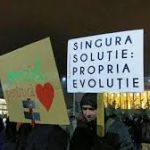 protest-buc. febr. 2017. SOLUTIA - PROPRIA EVOLUTIE